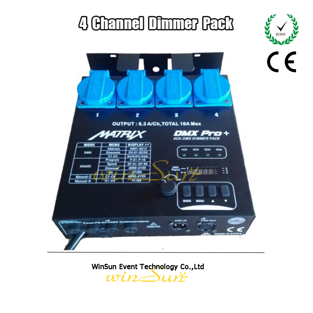 Stage Light Fixtures 4 Channel DMX Dimmer Pack Dimming Controller Adjustable Lighting Speed Dim or Switch Mode-in Professional Lighting from Lights ...  sc 1 st  AliExpress.com & Stage Light Fixtures 4 Channel DMX Dimmer Pack Dimming Controller ... azcodes.com