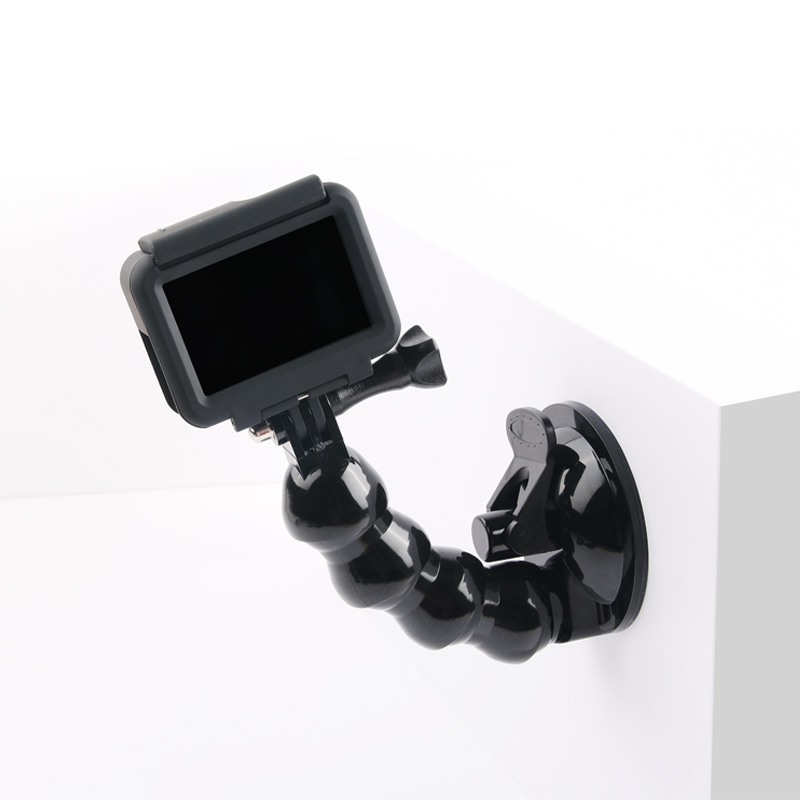 Car Sucker Holder For Gopro Hero 6 5 4 Driving Recorder Car Suction Cup For Go Pro Xiaomi Yi 4K Sjcam Action Camera Accessories conkim mini car suction cup holder for car cam dvr windshield stents car gps navigation accessories