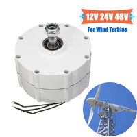 New Wind Generator Motor 2000W 12V 24V 48V High efficiency For DIY Wind Turbines Blade Controller 3 Phase Current PMSG