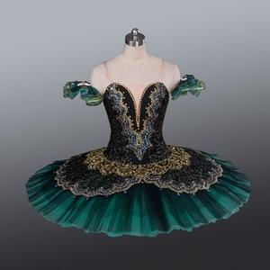 Image 1 - La Esmeralda Frauen Pfannkuchen Ballerina Platter Bühne Kostüm Tutu Röcke Für Erwachsene Professionelle Ballett Tutus Punkt Dance Kostüm