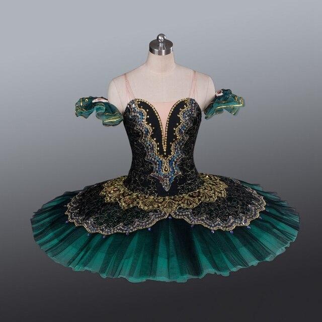 La Esmeralda Frauen Pfannkuchen Ballerina Platter Bühne Kostüm Tutu Röcke Für Erwachsene Professionelle Ballett Tutus Punkt Dance Kostüm