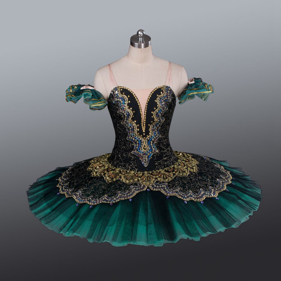 La Esmeralda Women Pancake Ballerina Platter Stage Costume Tutu Skirts For Adult Professional Ballet Tutus Point Dance Costume