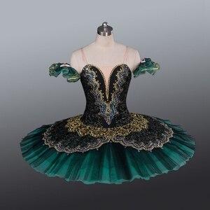 Image 1 - La Esmeralda Women Pancake Ballerina Platter Stage Costume Tutu Skirts For Adult Professional Ballet Tutus Point Dance Costume