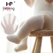 HPlikeing Breathable Summer Baby Socks Knee High for Newborns Boy Girl Kids Infant Socks bebe meias leg warmers Baby Clothing