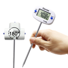 MOSEKO New 180″ Rotation Digital Kitchen Thermometer Food Meat Oven Probe BBQ Cooking ,Chocolate Water Oil Thermometer TA288