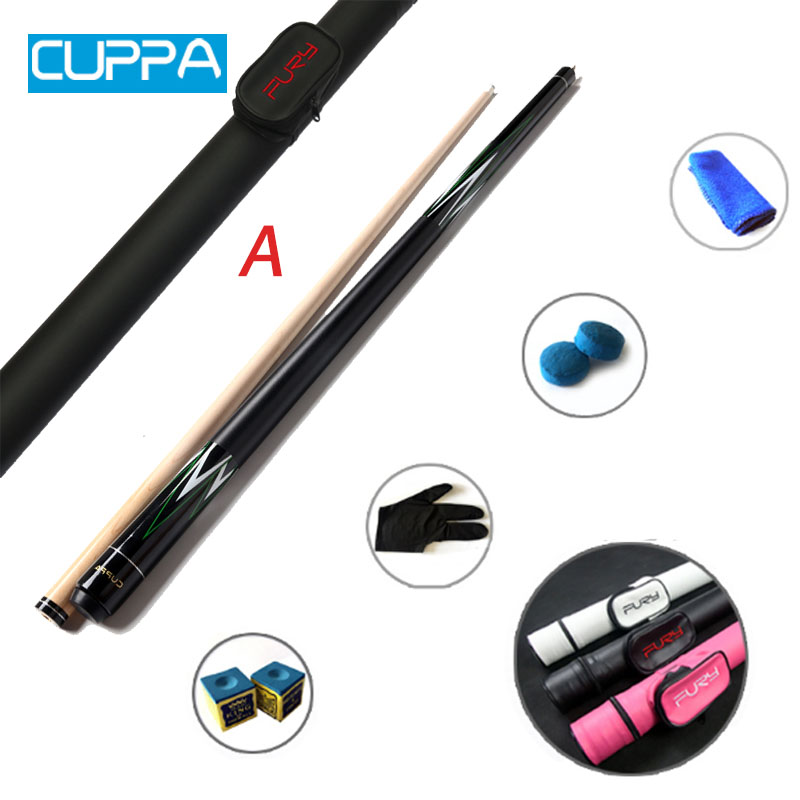 New Cuppa American Pool Cue Case Set 13mm/10.5mm/11.5mm Tip China 2017-in Snooker & Billiard ...