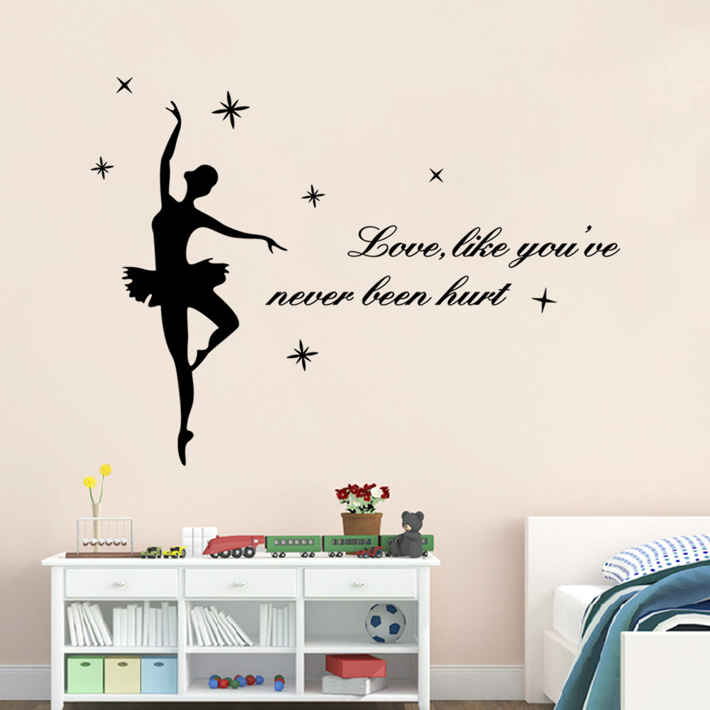 Ballerina wall stickers wall murals ideas pare prices on ballerina wall stickers line shoppingbuy low amipublicfo Gallery