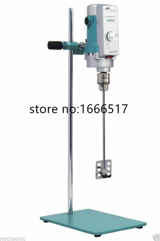 電気ラボミキサー混合ホモジナイザー AM300S-P 40L 100-1800 rpm 高品質のネオン