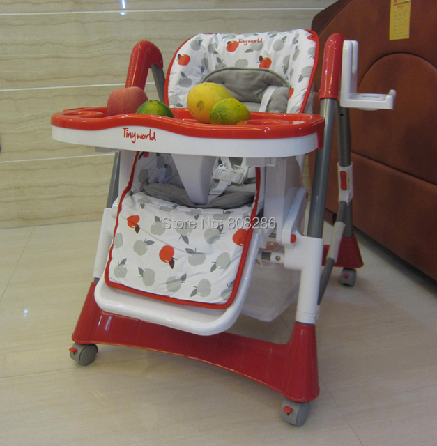 High Chair Tiny World Baby Chair Products Supplier 4 Wheels Cab Sit Can Lie  Easy To