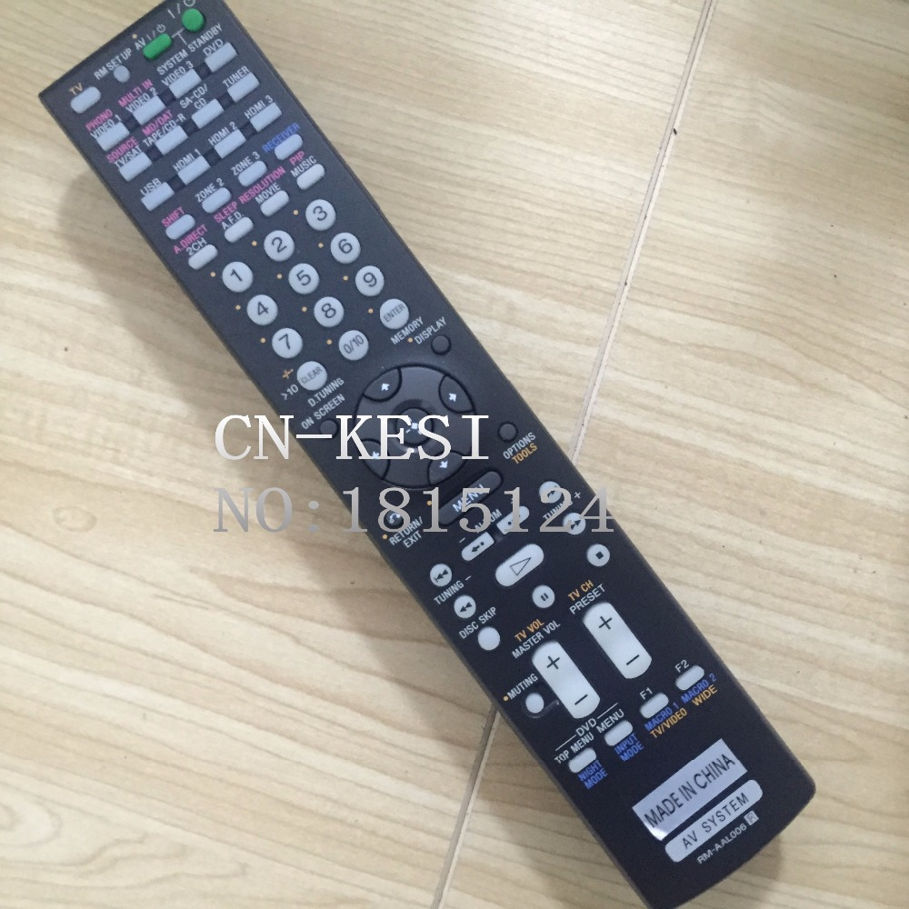 CN-KESI FIT Genuine Original For SONY RM-AAL006 STR-DA5200ES T3788-YS AV Power Amplifier Remote Control neural correlates of executive control in prefrontal cortical networks