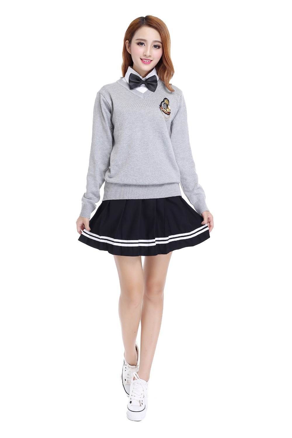 Uniformi scolastiche invernali autunnali uniformi per studentesse Sweety Girl-7058