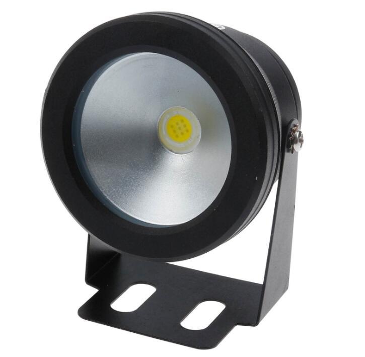 Оптовая цена 10 Вт вел подводный фонтан света вспышки водонепроницаемый света под водой светодиодные огни пруд для лодки IP68 AC12V