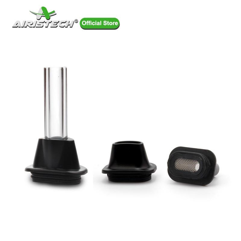 AIRISTECH Herbva Nokiva Flat Mouthpiece Drip Tip For Dry Herb Vapor Glass Tube Attachment Vaporizer Accessories