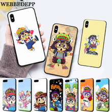 WEBBEDEPP Anime Dr. Slump Arale Little Girl Silicone soft Case for iPhone 5 SE 5S 6 6S Plus 7 8 11 Pro X XS Max XR