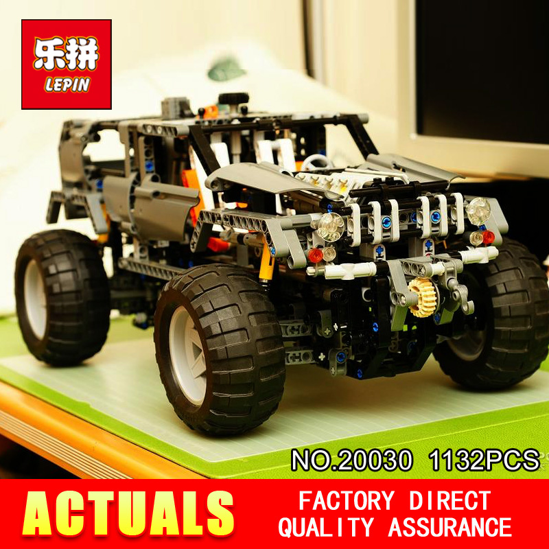Lepin 20030 Technic Ultimate Series 1132Pcs The Off-Roader Set Children Educational Building Blocks Bricks Toys Model Gifts 8297 1132pcs legoing technic ultimate series the off roader sets children educational building blocks bricks toys for children gifts