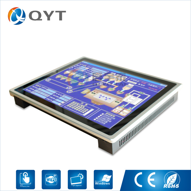 """Image 3 - Embedded panel pc intel core i3 3217U 19"""" industrial compouter Capacitive touch screen pc Resolution1280x1024 4GB DDR3 32G SSD-in Industrial Computer & Accessories from Computer & Office"""