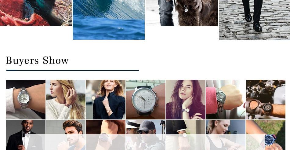 SINOBI Surfing Clock 3Bar Waterproof Watch Mens Sports Wristwatch Designer Branded Chronograph Male Spy Geneva Quartz-watch 007 38