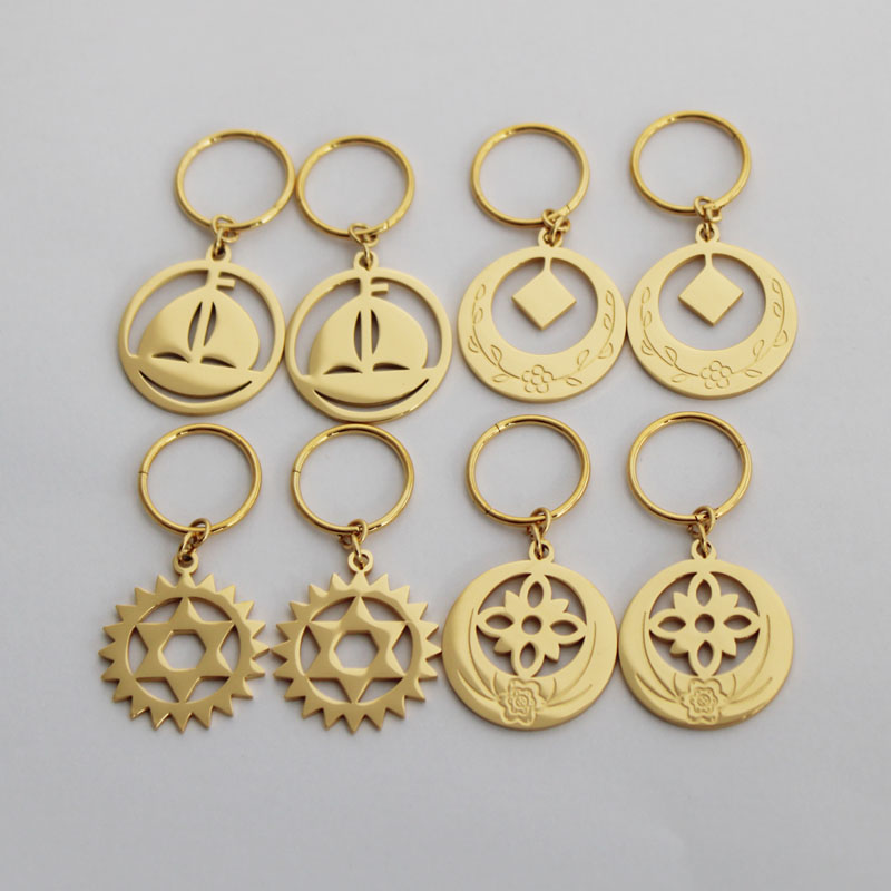 New Design Stainless Steel Kiribati Island Gold Earrings For WomenNew Design Stainless Steel Kiribati Island Gold Earrings For Women