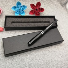 Best gift logo pen for my father custom free with your fathers name 1pc is the nice writing 0.7mm  +gift box
