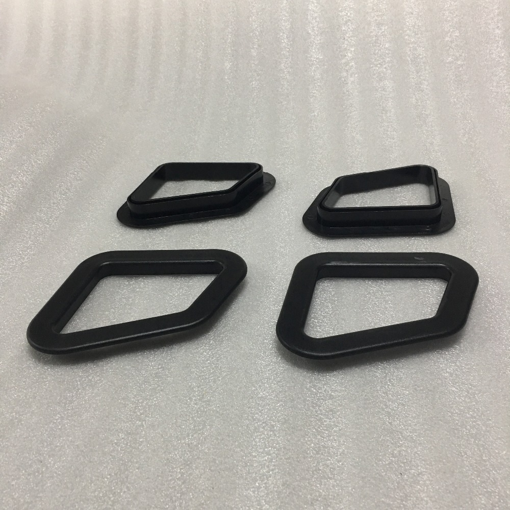 2PCS LOT for OEM car racing sport seat Stickers Seat window clamps spare part auto seat clamps for one seat in Seats Benches Accessoires from Automobiles Motorcycles