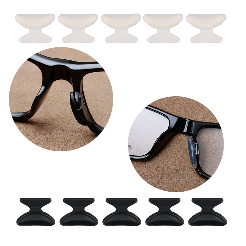 Able 1 Pc U Shape Anti-slip Nose Pad Silicone Stick On Pad Eyeglass Sunglasses Eye Glasses Accessories 10 Colors Moderate Cost Men's Glasses