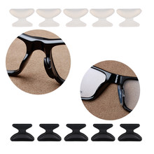 COLOUR_MAX 6Pairs Anti Slip Silicone Nose Pad For Glasses Eyeglasses Sunglass(China)