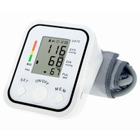 BP826 Digital Bp Blood Pressure Monitor Meter Sphygmomanometer Cuff NonVoice Drop Shipping Wholesale