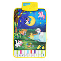 Modern Cartoon Cute Farm Animal Baby Musical Touch Play Gym Crawling Carpet Play Mat Language Learning Toy Gift For Kids