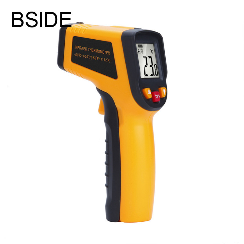 Digital Laser Infrared Thermometer - 50 To 600 Degree Non-co