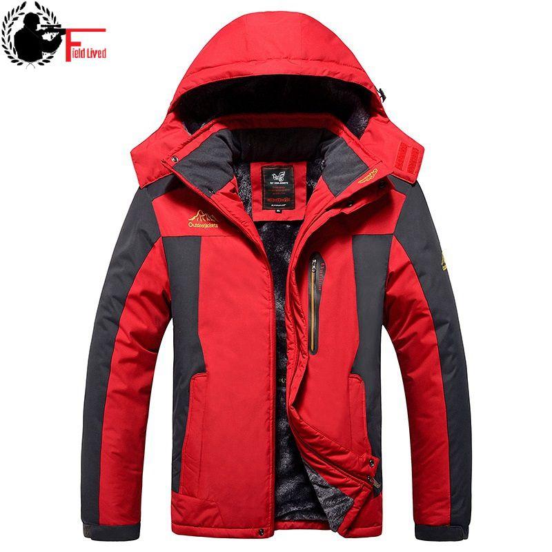 9XL Winter Jackets Men Parka Plus Big Larger Size Windproof Coat Fleece Fur Thick Warm Thick Coat Male Oversized 6xl 7XL 8XL 6XL