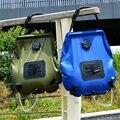 20L портативная Водонепроницаемая прочная сухая Сумка для кемпинга  сумка для душа на солнечной батарее  сумки для душа на солнечной энергии ...