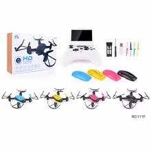 Professional rc drone FX-R111F 5.8G FPV Quadcopter 2.0MP Camera 6 Axis RC Drone One key return Headless mode LED RTF VS Q212G