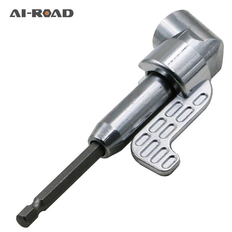 105 Graus para a Direita Ajustável Suporte de Driver Hex Chave de Fenda Bits Bicos Para Bits Chave de Fenda de Cabeça para a Direita