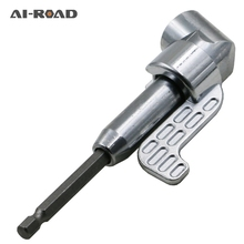 105 Degree Right  Driver Hex Screwdriver Holder Adjustable Bits Nozzles For Screwdriver Bit Right  Head hilda 1pcs 105 degree right angle head screwdriver 1 4 hex shank for power drill screwdriver bits tools