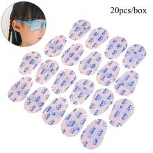 Soft-Eye-Patch Medical Reusable Glasses Orthoptic-Mask 20pcs/Set Fabrics Amblyopia Non-Woven