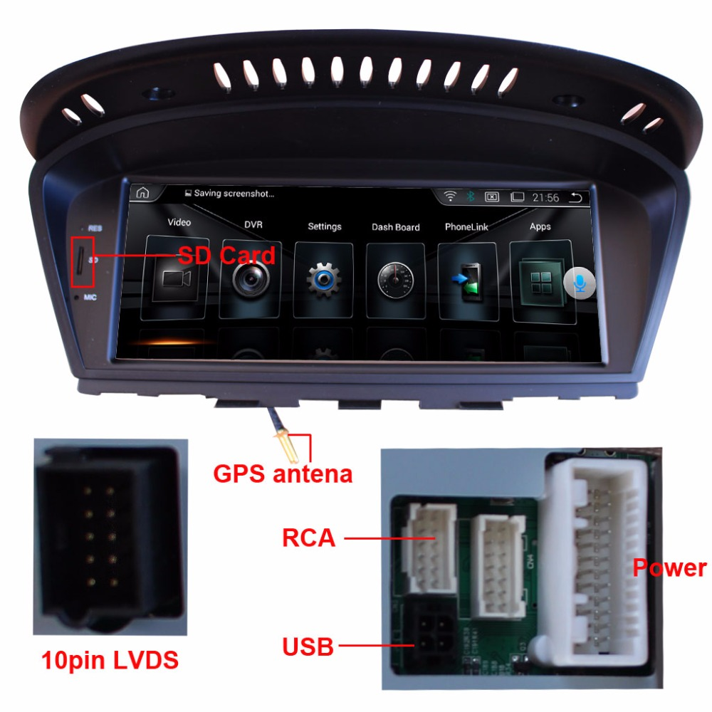 8 8 Inch Car Multimedia Player For BMW 3 Series E90 2009 2012 BMW 5 Series