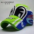 2016 New 100% Original vrfortysix rossi VR46 cap Cotton MotoGP F1 Racing Baseball Caps Motorcycle Motorsport Sun Hats