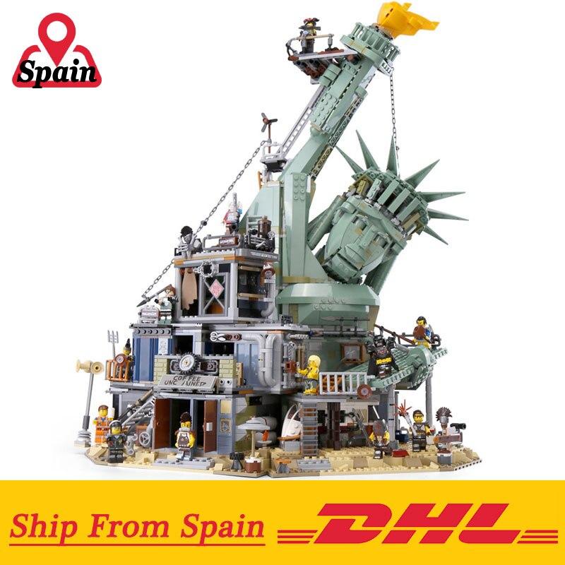 Oyuncaklar ve Hobi Ürünleri'ten Bloklar'de DHL 45014 Film 3560 adet ile Uyumlu Legoings 70840 hoş geldiniz APOCALYPSEBURG Set Yapı Taşları Tuğla Çocuk Oyuncakları Hediye'da  Grup 1