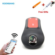 Koenbang WI-FI HD 1080 P автомобиль тире Камера Новатэк 96658 Sony IMX323 170 градусов объектив Видеорегистраторы для автомобилей регистраторы