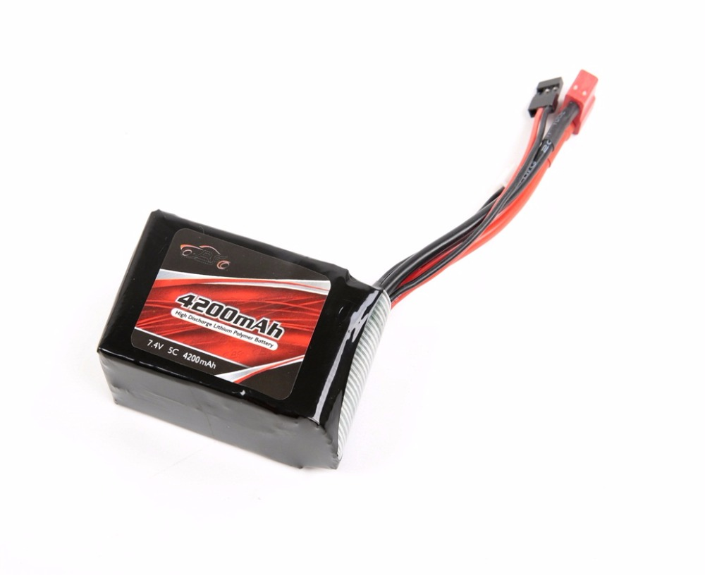 7 4V 5C 4200 mAh lithium battery for HPI Baja 5B SS ROVAN