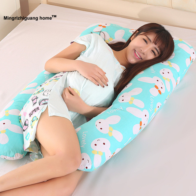 1pc 130x70cm Pregnancy Comfortable U Type Pillows Body Pillow For