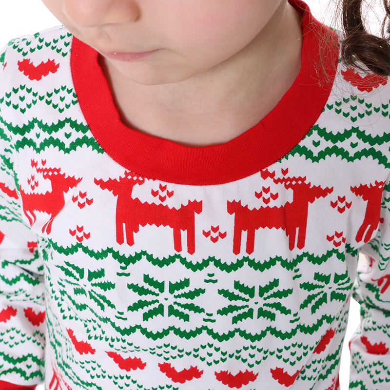 kaiya angel christmas pajamas girls clothes boutique outfits reindeer top leggings suit kids christmas clothing children set in clothing sets from mother