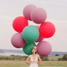 36 inches giant latex balloons for Wedding party bigger helium balloon balls gifts free shipping