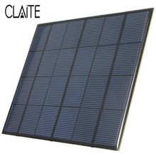 Sistema de Módulo Venda Quente 3.5 W 6 V 583ma Epóxi Mini Painel Solar DIY de Silício Monocristalino Células Solares Bateria Carregador Telefone