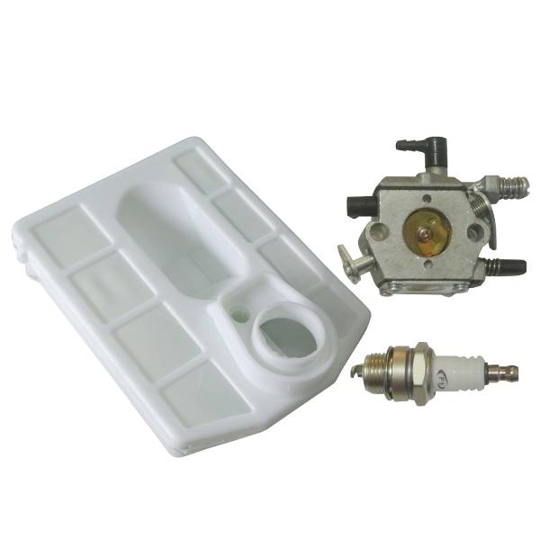 Carburettor Air Filter Spark Plug Kit Fit 4500 5200 5800 Chinese Chainsaw BBT