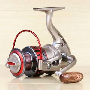 2018 Brand DF1000-DF7000 Pesca Golden Reel Spinning Fishing Reel Fixed Spool Reel Coil Fish Fishing 10BB free shipping