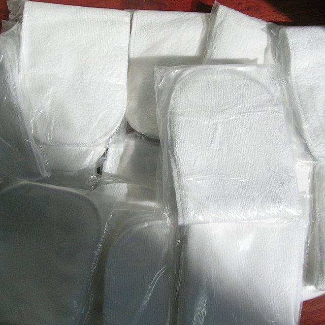 Free shiping Baby diapers 10pics quality for baby insaid used 2 layer insert .