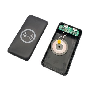 Image 5 - wireless charging power bank case diy Kit Fast Charger Mobile Power Bank Case