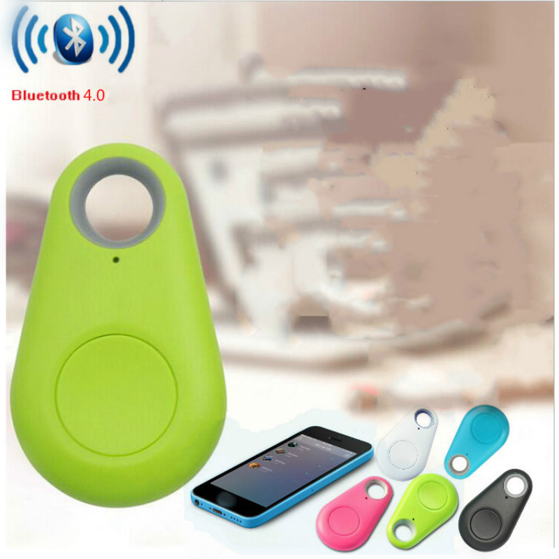 Light Green Smart Bluetooth Finder Kids Pet Key Wallet Tracker GPS Locator