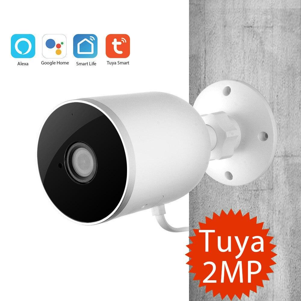 Graffiti Smart Wireless Network Outdoor Waterproof Gun Camera Tuya Wifi Camera